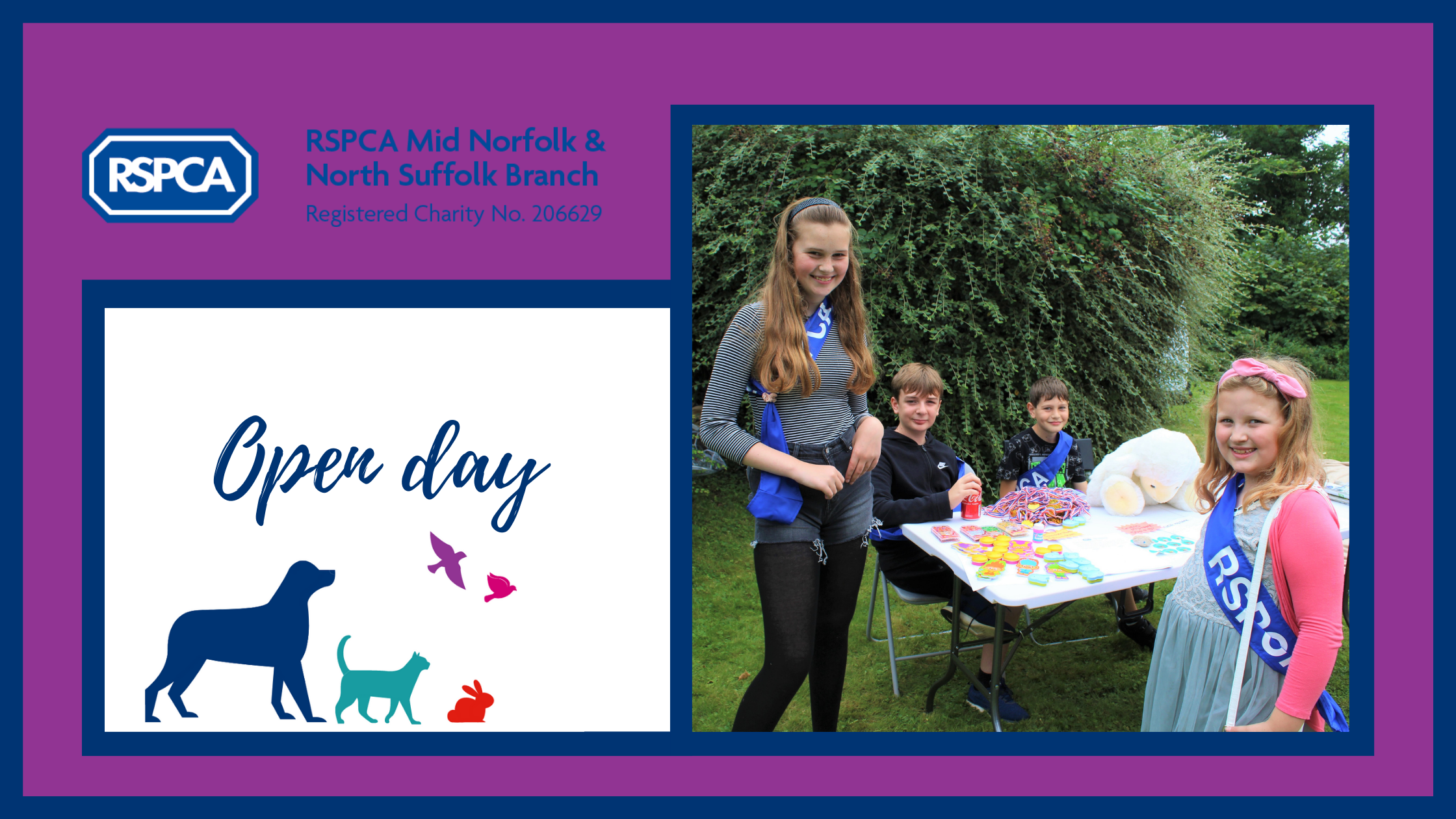 Open day- What a lovely day!