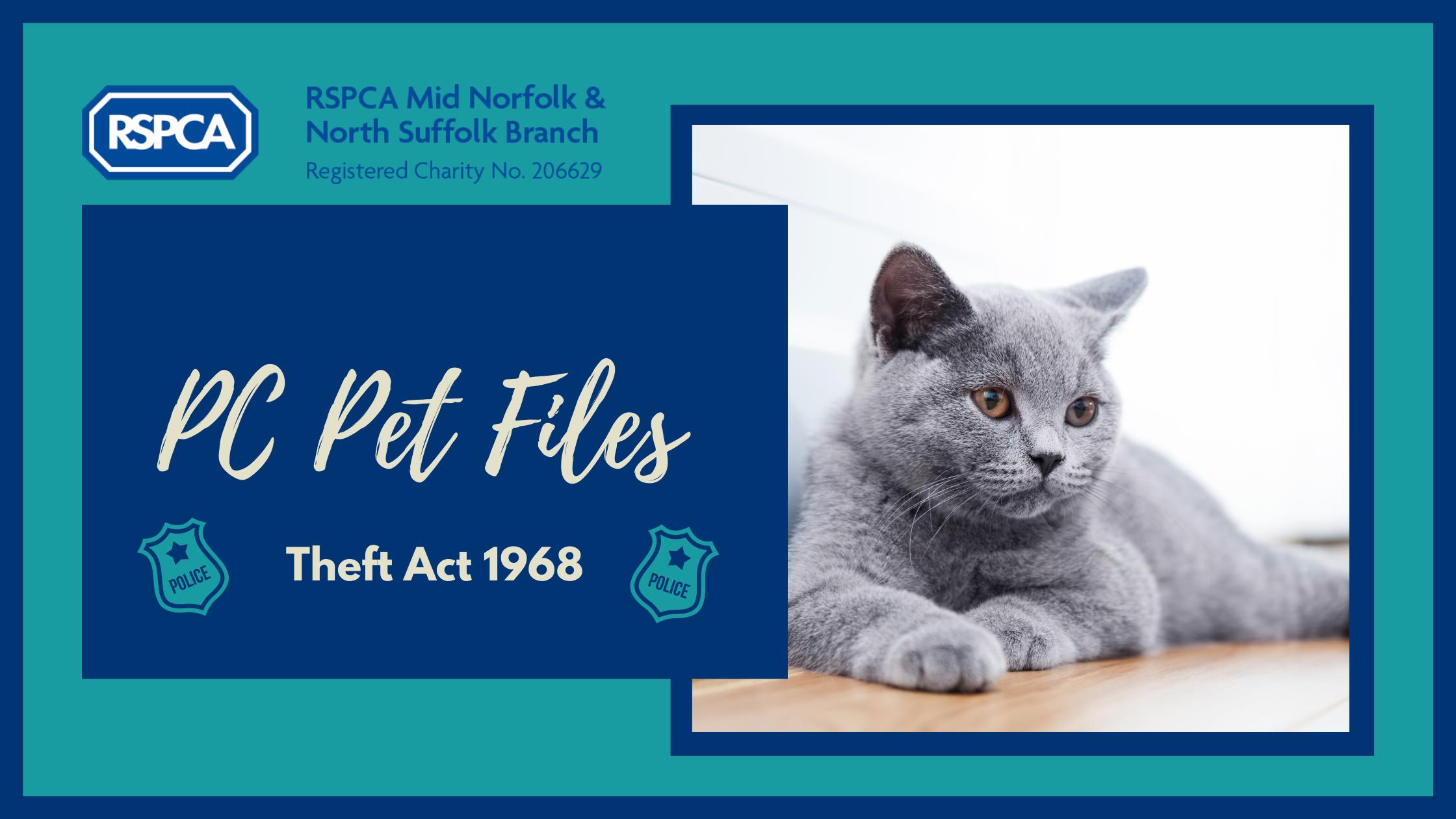 PC Pet files- Theft Act 1968